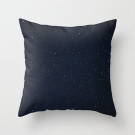 filling the darkness Throw Pillow