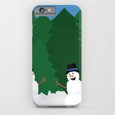 Snowball Fight iPhone 6s Slim Case