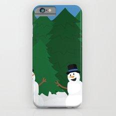 Snowball Fight Slim Case iPhone 6s