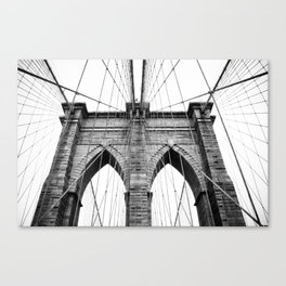 new york #3 - Brooklyn Bridge Canvas Print