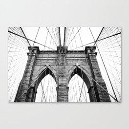 new york #3 - Brooklyn Bridge Canvas Print