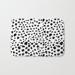 Cheetah skin pattern design Bath Mat