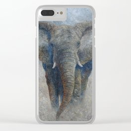 Elephant 2 Clear iPhone Case