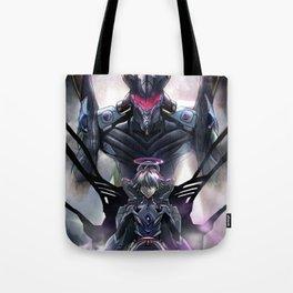 Kaworu Nagisa the Sixth. Rebuild of Evangelion 3.0 Digital Painting. Tote Bag