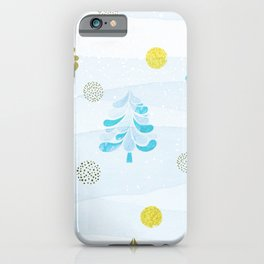 Christmas Trees 2.0 iPhone Case