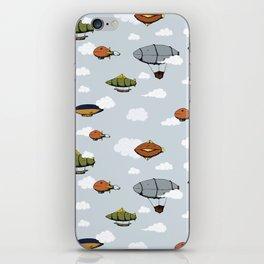 Blimps, Zeppelins, and Dirigibles iPhone Skin