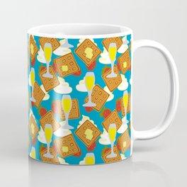 berries waffles and mimosas Coffee Mug