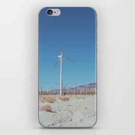 Palm Springs Windmills VIII iPhone Skin