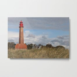 Lighthouse Flügge Metal Print