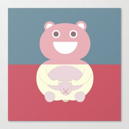 Pantless Project / TEDDY Canvas Print
