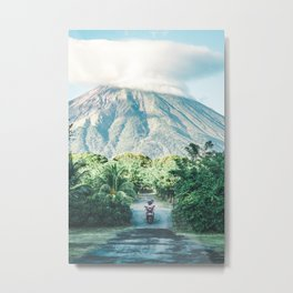 Volcano in Nicaragua - travel photography & landscapes Metal Print
