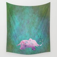 hindu Wall Tapestries featuring Love is in the air I by Better HOME