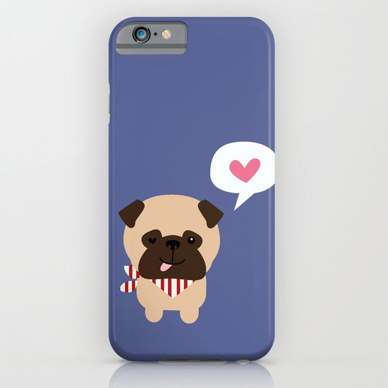 Pancho the Pug iPhone & iPod Case