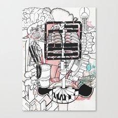 Broken Parts Canvas Print