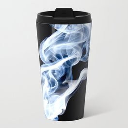When Smoke Meets Light Metal Travel Mug