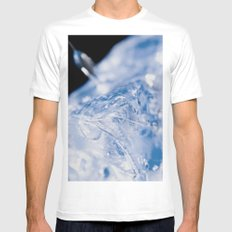 Ice MEDIUM Mens Fitted Tee White