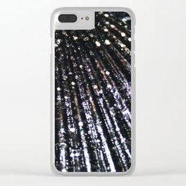 Triton´s Secrets - Black Shimmer Clear iPhone Case