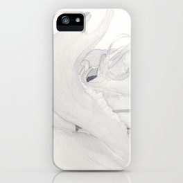 Jawline (Close Up) iPhone Case
