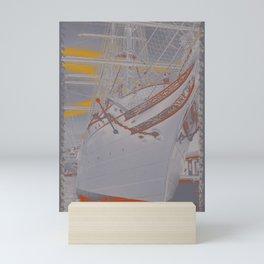Tall ship Statsraad Lehmkuhl Mini Art Print