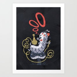 Caterpillar - Alice in Wonderland Art Print