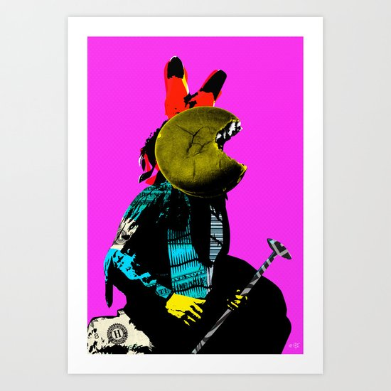 Indian Pop 44 Art Print