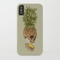 Pineapple Skull Slim Case iPhone X