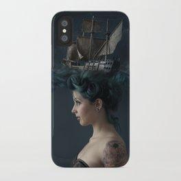 Sailing - Blue iPhone Case