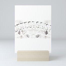 Funny Detectorist Metal Detecting Mini Art Print