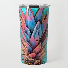 Colorful Pineapple Travel Mug