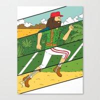 run Canvas Prints featuring Run by Derek Eads