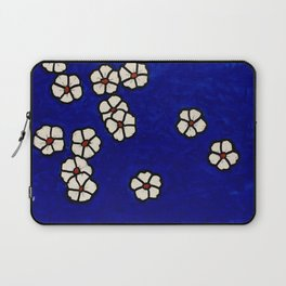 Small white flowers Laptop Sleeve