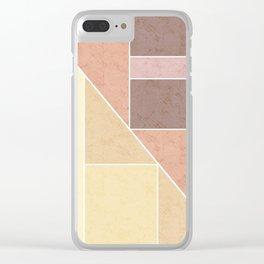 Simple geometric pattern. 2 Clear iPhone Case