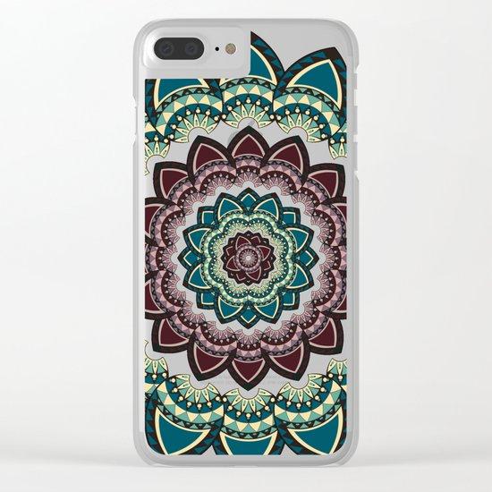 Mandala I Clear iPhone Case