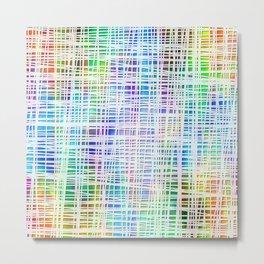 Colorful striped DP034-2 Metal Print