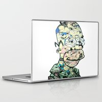 homer Laptop & iPad Skins featuring Homer Color by Drew Kochell
