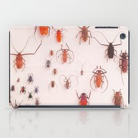 insects iPad Cases featuring Insects by Guo Shiyuan
