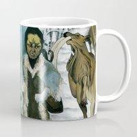 mythology Mugs featuring Inuit Mythology: Chapter 1, part 7 by Estúdio Marte