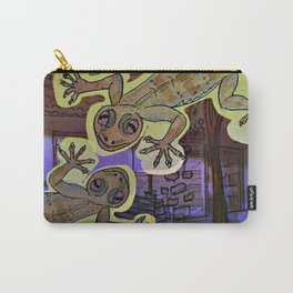 Geckos in the Night / Perenquen Carry-All Pouch