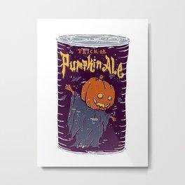 Pumpkin Ale Metal Print