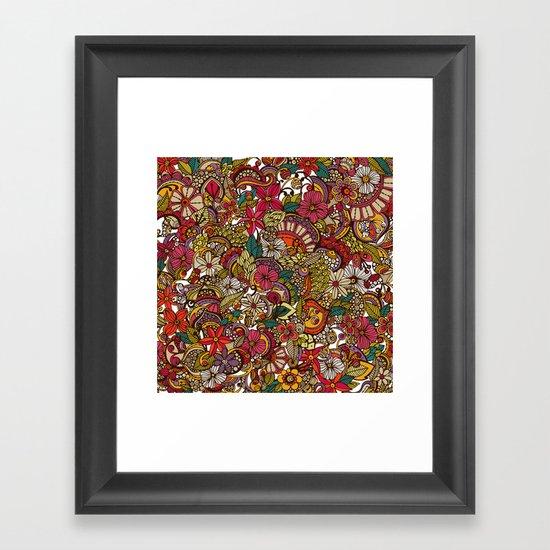 I spy... in colors Framed Art Print