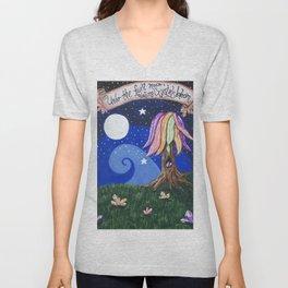 Full Moon Magic Unisex V-Neck