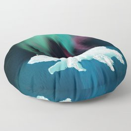 Polar Ice Floor Pillow