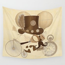 Steam Punked Wall Tapestry