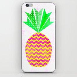 Chevron Pineapple iPhone Skin