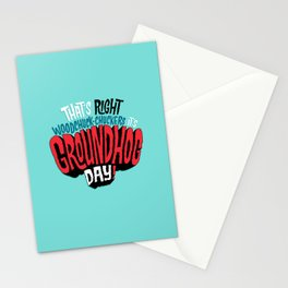 It's Groundhog Day! Stationery Cards