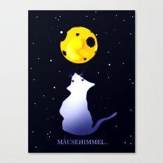 Mäusehimmel. Canvas Print