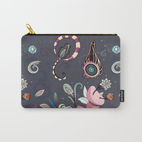 camtric fantasy pattern Carry-All Pouch