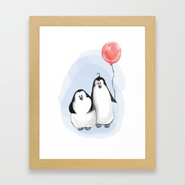 We are penguins Framed Art Print