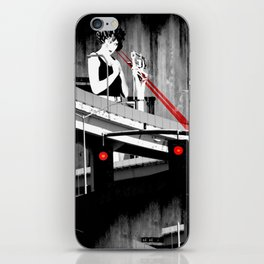 Stop the Freeway Overpass Scales Madness! iPhone Skin
