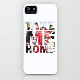 Take Me Home // One Direction iPhone Case